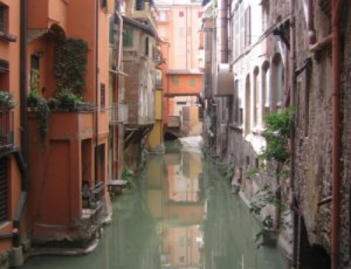 Bologna – built on water