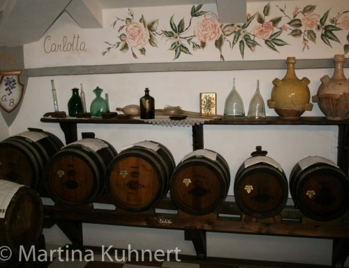 Balsamic vinegar factory